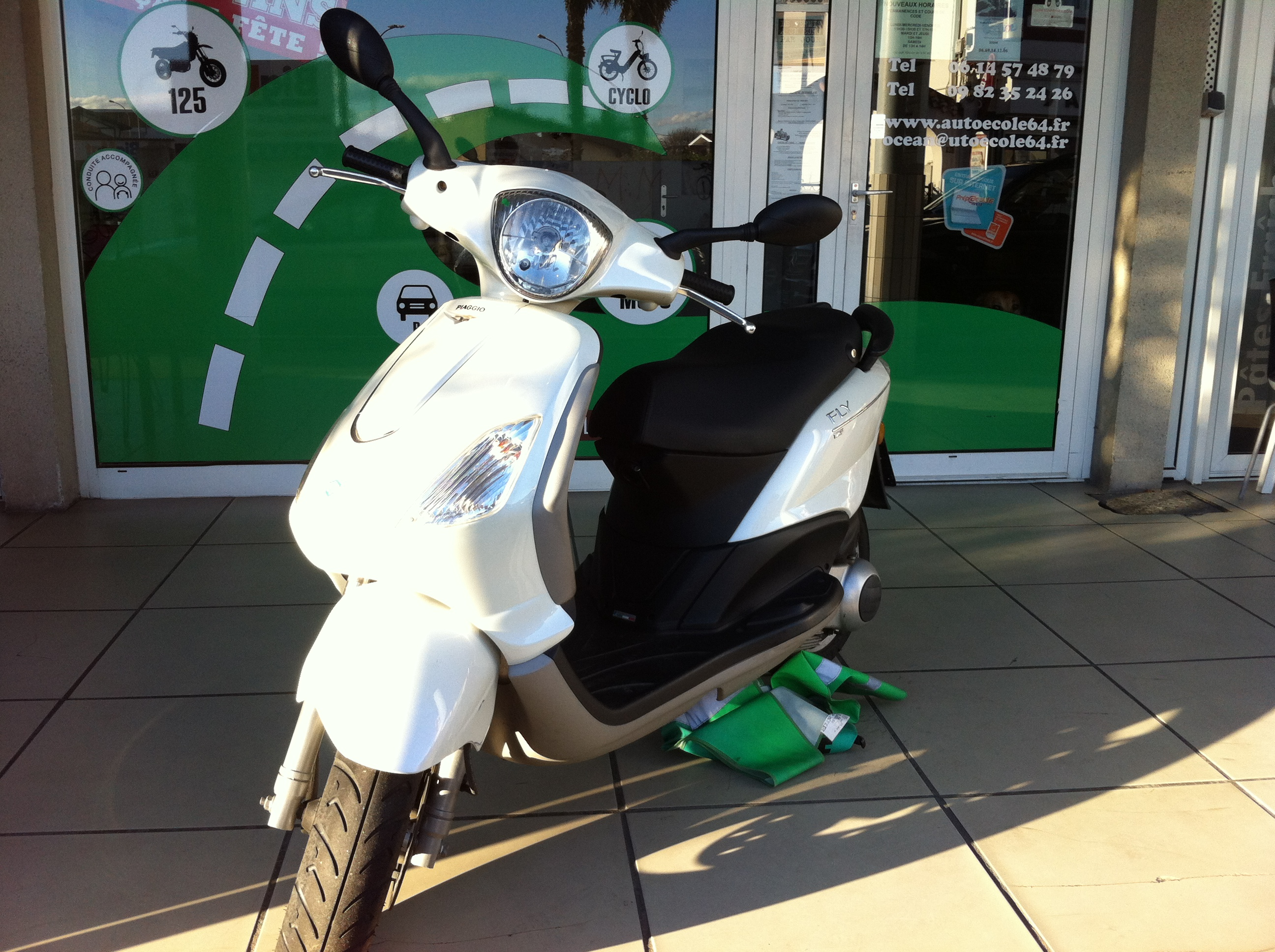 permis scooter anglet